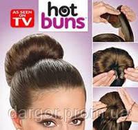 Резинка-валик Hot buns,заколка для создания причеси Hot buns