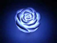Светящаяся светодиодная свеча Роза