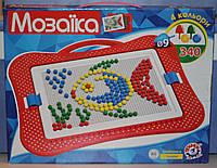 Мозаика №4 для малышей от ТМ Технок (рыбка)