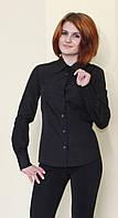 Чёрная женская блуза
