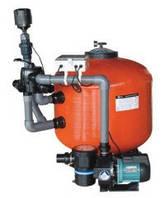 Фильтрационная система 35м3/час для прудов