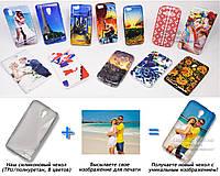 Печать на чехле для Alcatel5050YOneTouch POP S3 (Cиликон/TPU)