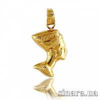 Кулон из желтого золота Нефертити 2810