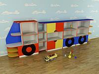 Детская игровая стенка Машинка