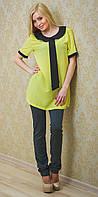 Туника женская желтая, фото 1