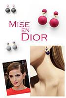 Элегантные серьги-пусеты Mise en Dior!