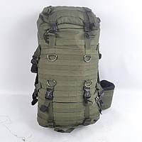 Туристический рюкзак на 75 литров с двумя подсумками
