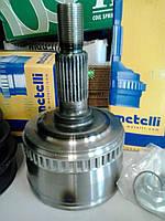Metelli шрус наружный, внутренний (Италия) - комплект с пыльником, хомутами и смазкой