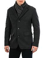 Пальто мужское демисезонное GZM 63F3061 серое