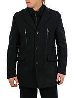 Пальто мужское демисезонное GZM 63F3051темно-синее