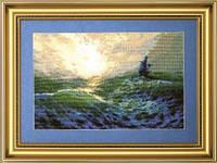 Набор для вышивки «Буря на море»