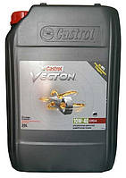 Моторное масло полусинтетика Castrol (Кастрол) Vecton 10w40 20л