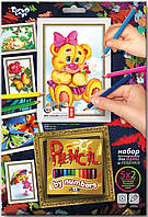 """Детский набор """"Раскраска карандашами по номерам"""" Данко Тойс"""