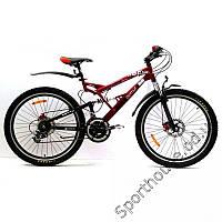 Горный двухподвесный велосипед Azimut Venus 226GD