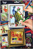 "Набор для творчества Danko Toys ""Картины карандашами по номерам"""