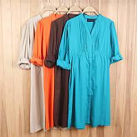 Платья хб на лето, большой выбор расцветки и размеров