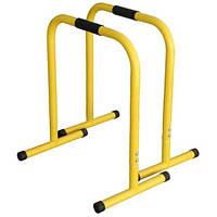 Эквалайзер тренировочный кроссфит 2 шт желтый