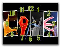 Часы настенные Руки