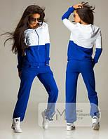 Легкий спортивный костюм из двухнитки для женщин