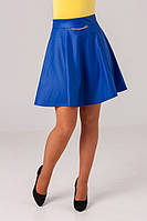 Молодежная женская юбка оригинального кроя, фото 1