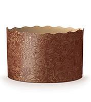 Форма бумажная для выпечки пасхи(кулича) 500г