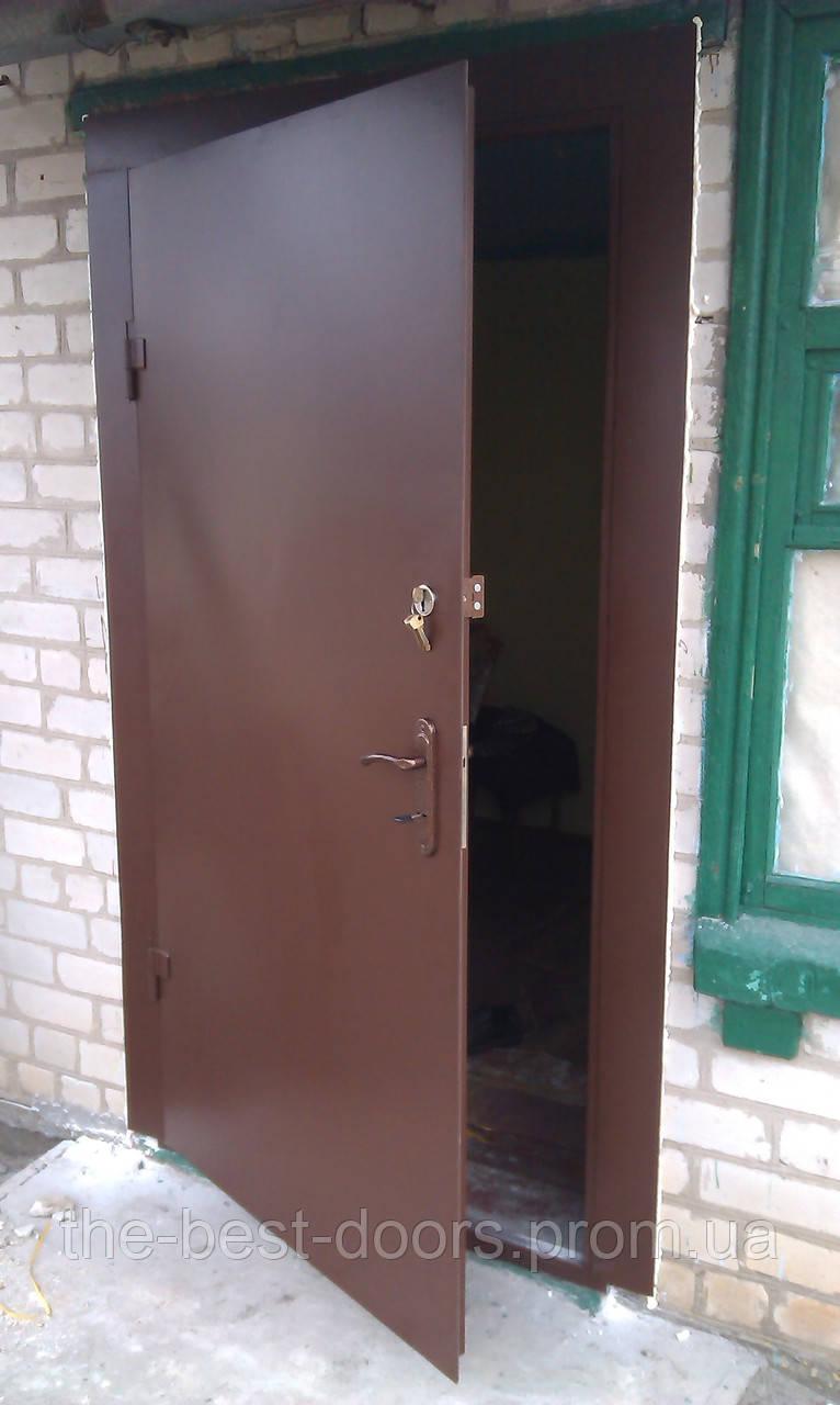 металлическая дверь на дачу от производителя