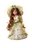 Кукла фарфоровая Шила 30см