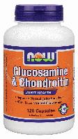 Глюкозамин хондроитин NOW Foods Glucosamine & Chondroitin 120 сaps