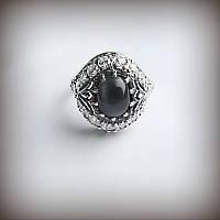 Серебряное кольцо Чалма с улекситом 1013