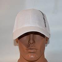 Мужская кепка с сеткой весна-лето 2016 - белая