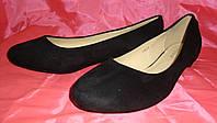 Балетки женские черного цвета