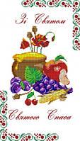 Салфетка под вышивку бисером на праздник Спаса