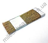Щетка для очистки фрез ручная с регулируемой жесткостью, латунь