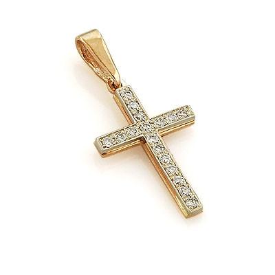 Кресты с золотым напылением
