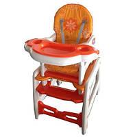 Детский стульчик для кормления, качалка, стол и стул (M 1563-7)