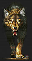 Набор для вышивания крестиком Волк