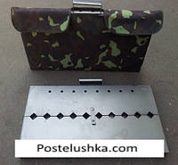 Чехол на мангал-чемодан на 8 шампуров
