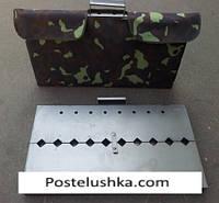 Чехол на мангал-чемодан на 10 шампуров