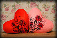 Светящаяся подушка Сердце Весна