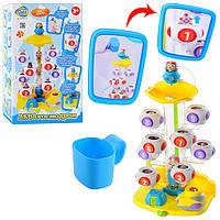 "Игрушка для ванной Водопад ""АкваКосмодром"" на присоске M 2225 U/R  Limo Toy"