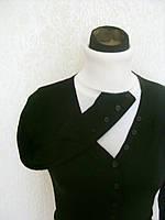 Женская кофта на пуговицах. Классика