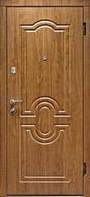"""Дверь входная металлическая """"АКЦЕНТ"""" (ШАГРЕНЬ/МДФ) 950х2030, бесплатная доставка по Украине"""