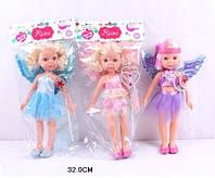 Кукла фея с волшебной палочкой, в пакете 32 см R810K-D
