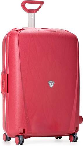 Четырехколесный пластиковый чемодан-тележка на 90 л., Roncato Light 500711/09 красный