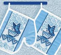 Набор для вышивки «Прихватки»
