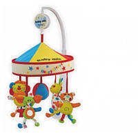 Цирк Музыкальный мобиль с куполом, карусель для детской кроватки