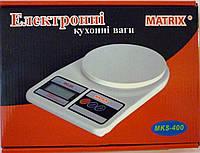 Компактные весы для кухни mks-400, с большим максимальным весом 10 кг, дискретность +/- 1г, питание 2*аа