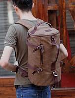 Винтажный рюкзак. Сумка для путешествий. Рюкзак мужской. Интернет магазин рюкзаков. Удобный рюкзак.Код: КРСК81