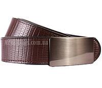 Стильный двухсторонний мужской кожаный ремень под джинсы