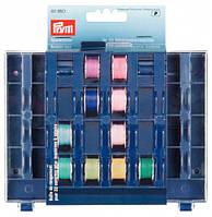 Бокс с ячейками для хранения 32-х шпулек для швейных машин 3х13х16 см
